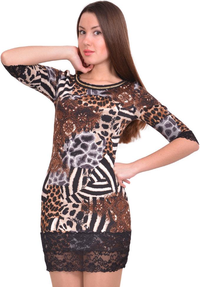 Платье Nica Nice Тигра - гипюр