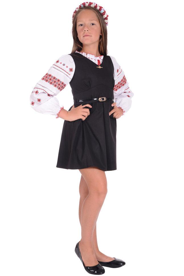 Школьный сарафан Carina Exclusive 2532
