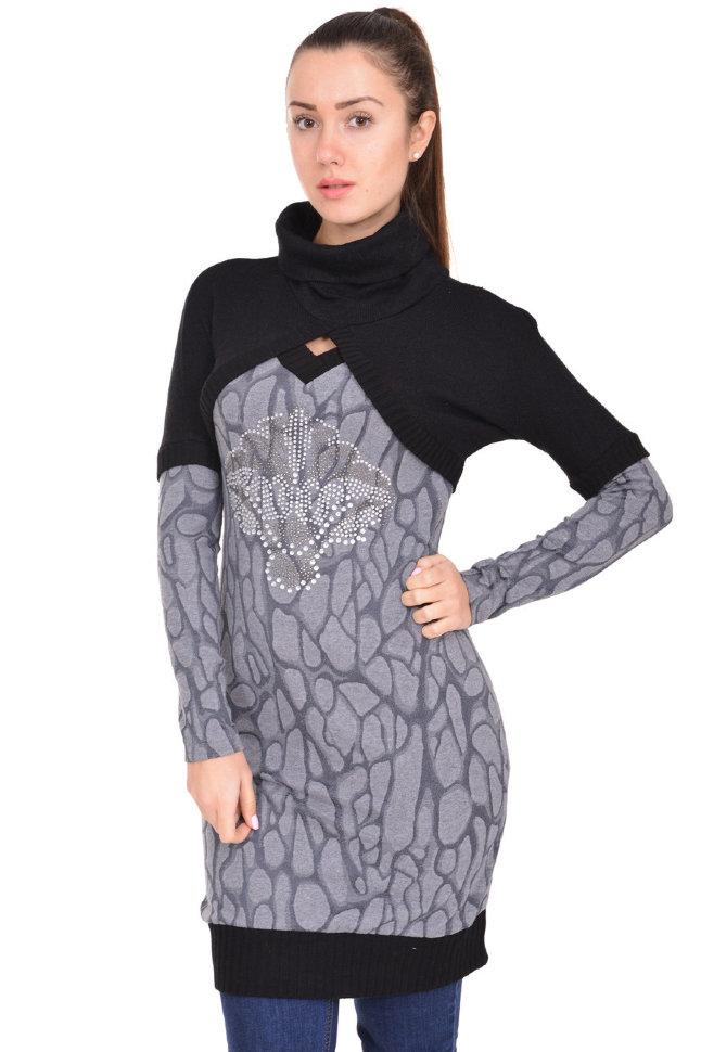 Платье-туника Edu 21011