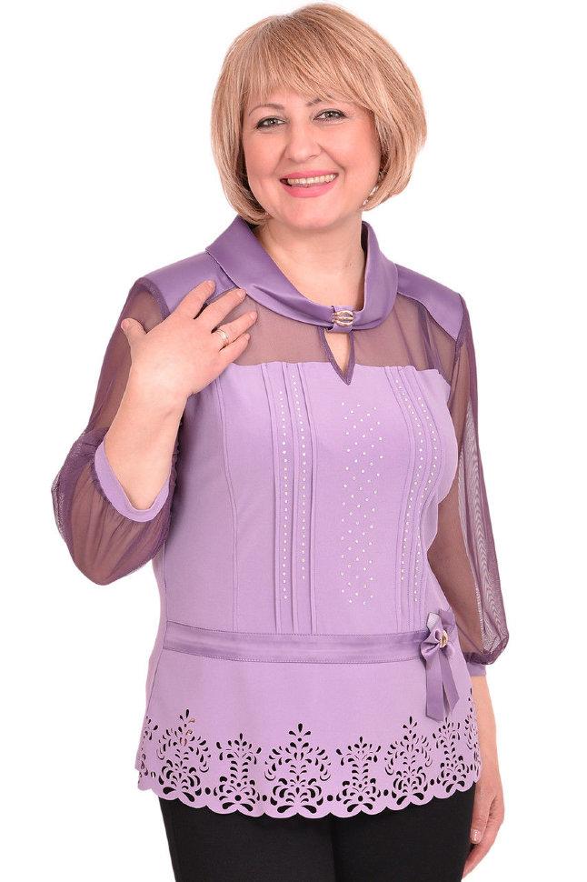 Блузка Трикотажная Большой Размер В Челябинске