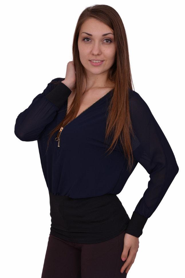 Блуза Alenka Plus Золотая молния