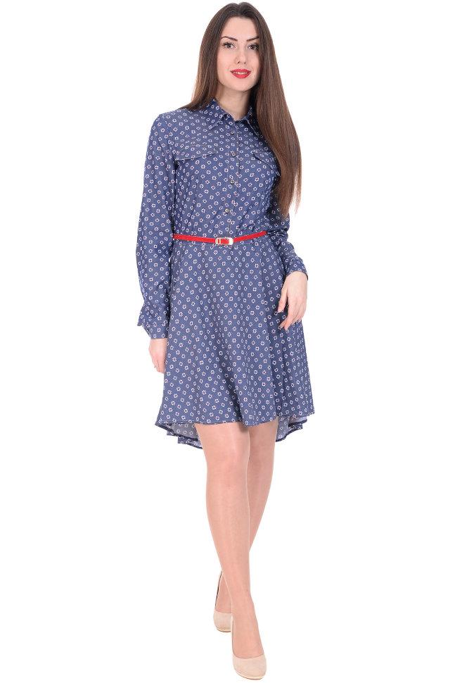 Платье-рубашка Elegance 90006