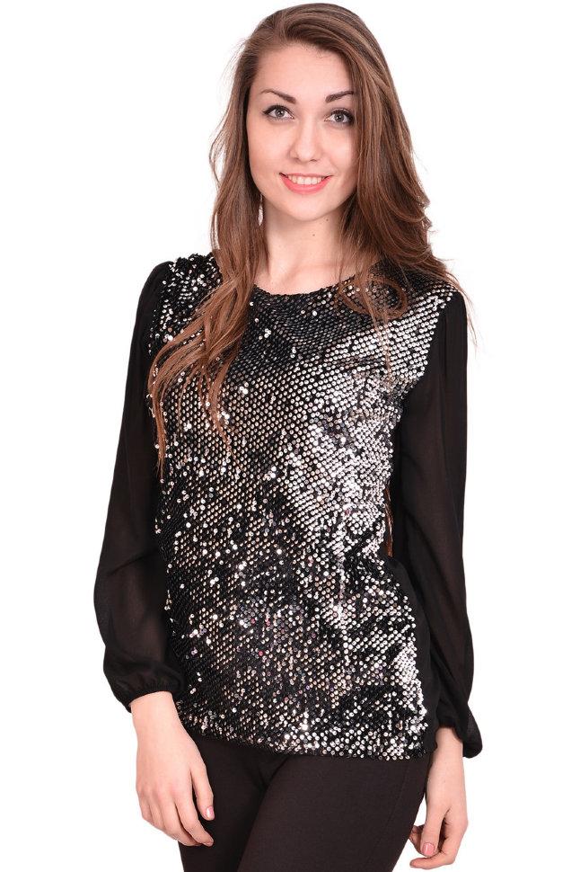 Блуза Styled Пайетки